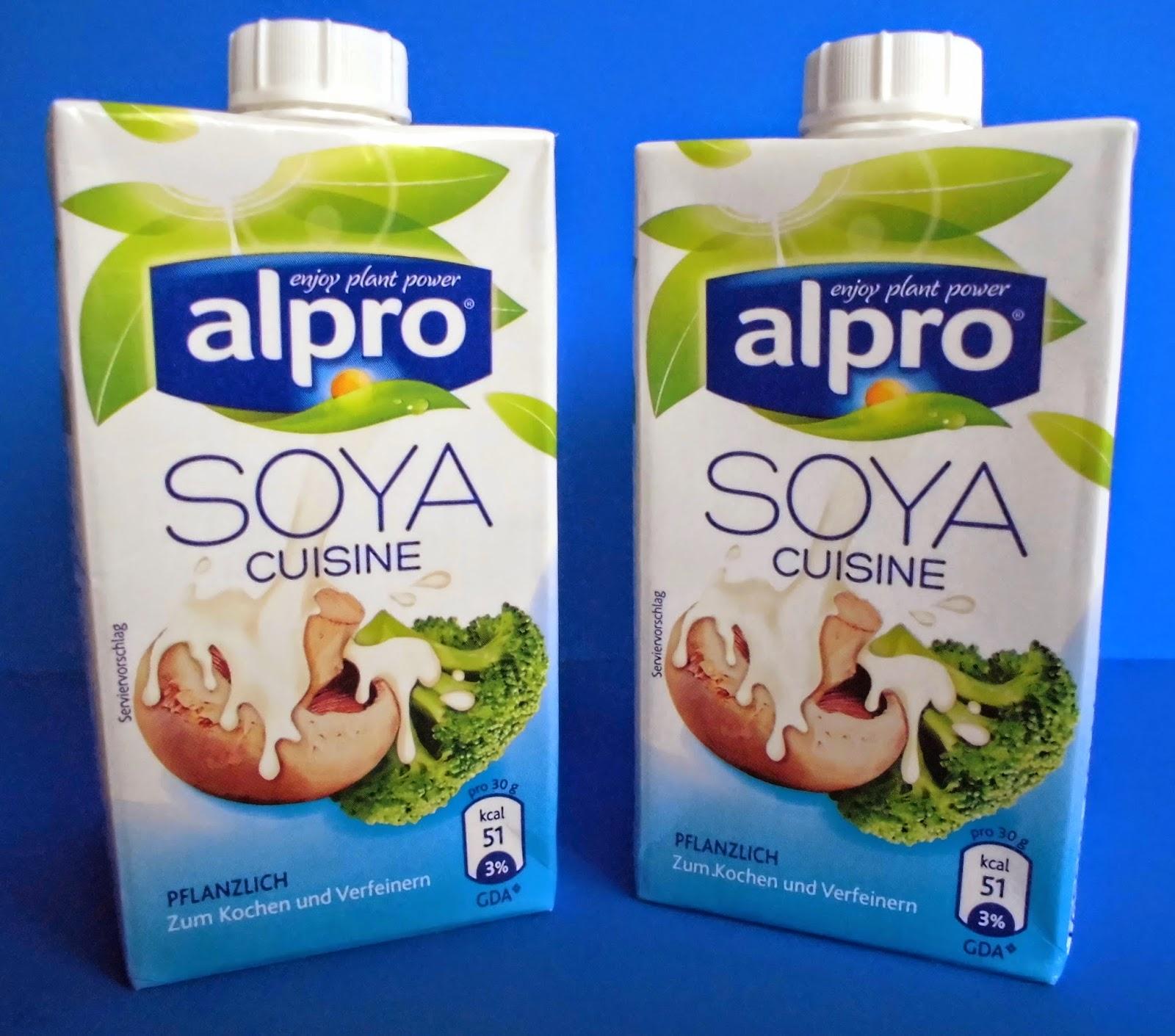 Produkttestseite von heike produkttest alpro soja for Alpro soja cuisine