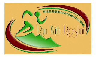 Run with Roshni marathon logo