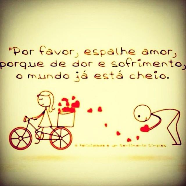 Espalhe amor...