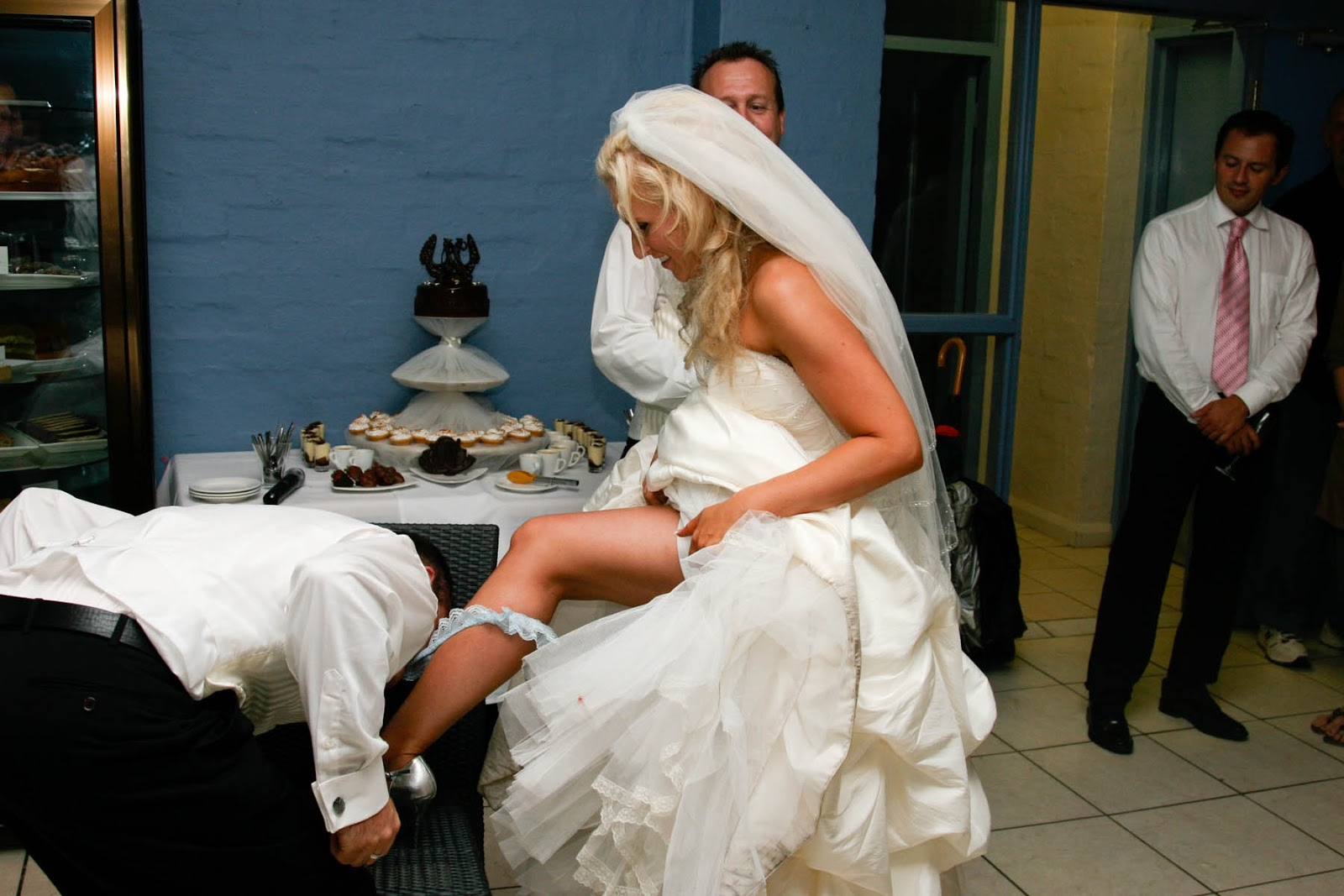Have You Heard About The Wedding Garter