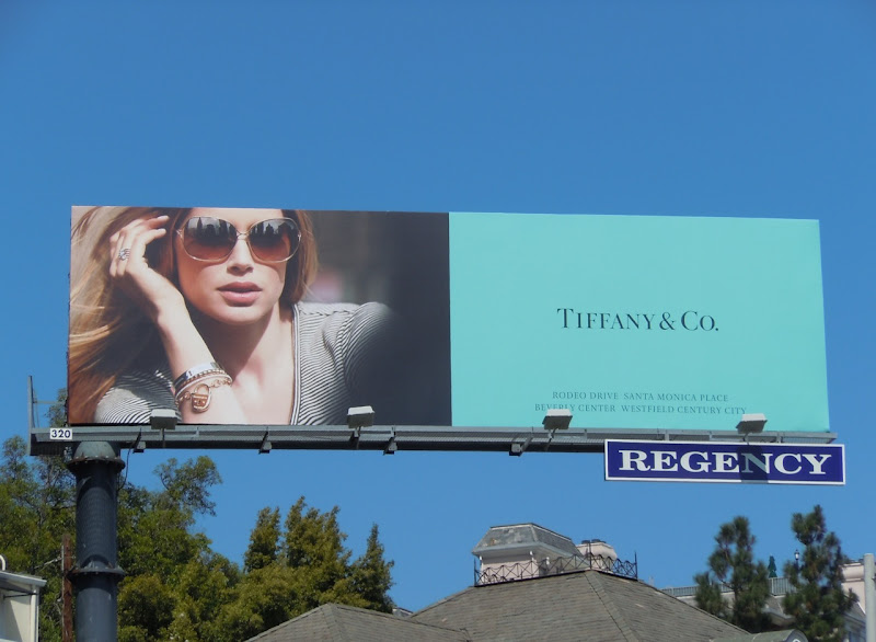 Tiffany eyewear 2011 billboard