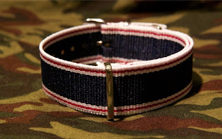 Selvedge Style Nylon Watch Strap ~ Dubstraps