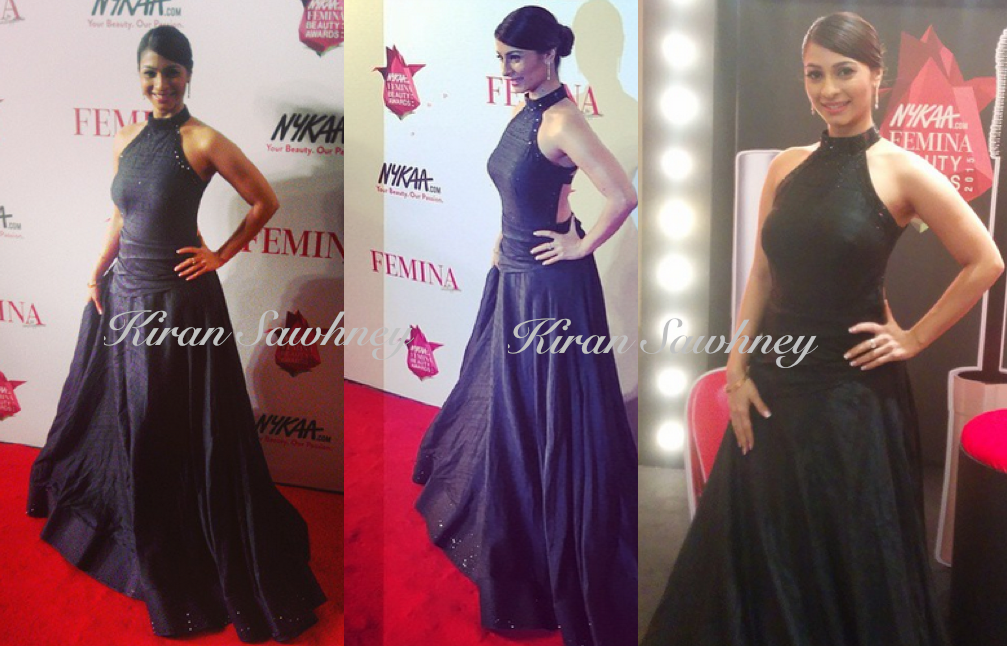 Tanishaa Mukherji in Schon by Sakshee at the Beauty Awards Night