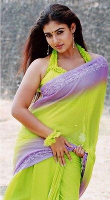 Aunty Hot Mallu: mallu aunty Nayanthara in new look in saree