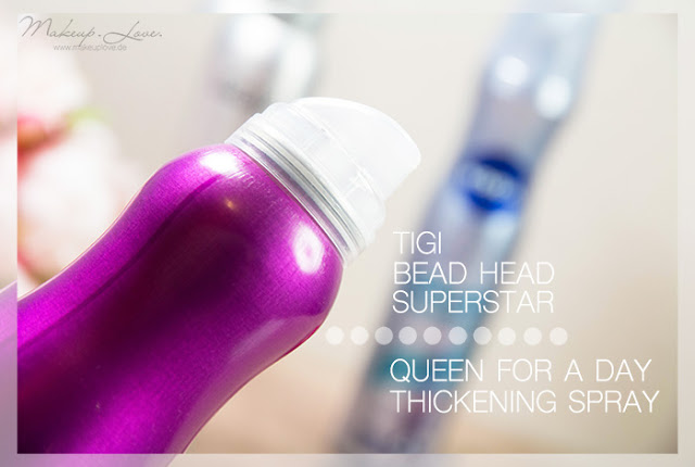 Styling Haarspray Haarpaste Volumenspray Volumen feines dünnes Haar Tigi Superstar