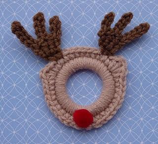 Amigurumi Human Nose : 2000 Free Amigurumi Patterns: Rudolph the Red Nose Ring ...