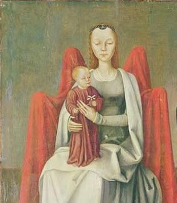 15th century Jesus and Madonna