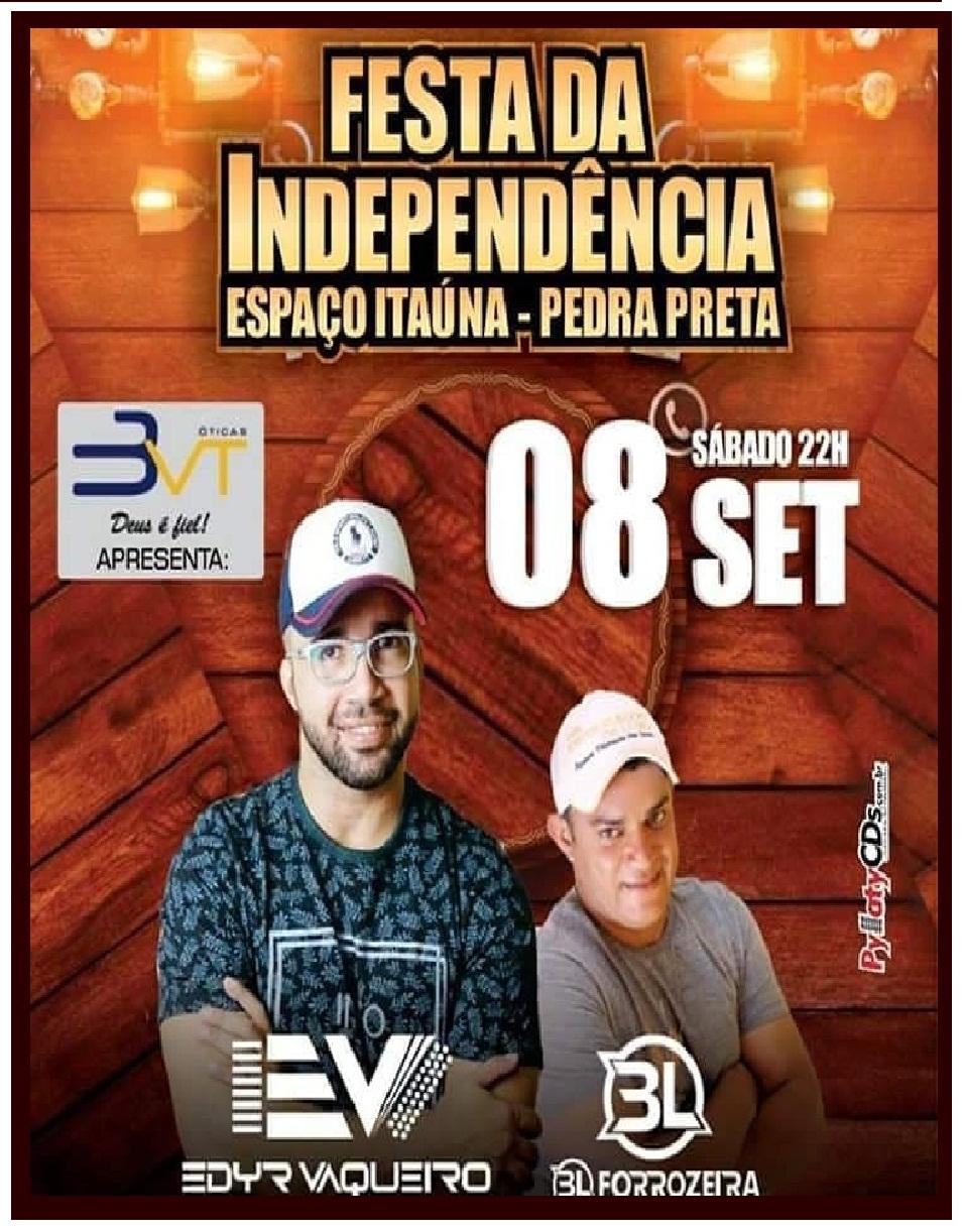 FESTA DA INDEPENDÊNCIA P. PRETA RN