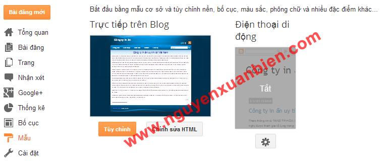 Thay đổi tiêu đề thành thẻ H1 trong blogspot (blogger)