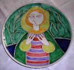Elle Keramikk spesielt fat, d = 29,5cm,