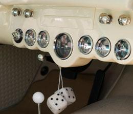 Peinture d'intérieur de voiture