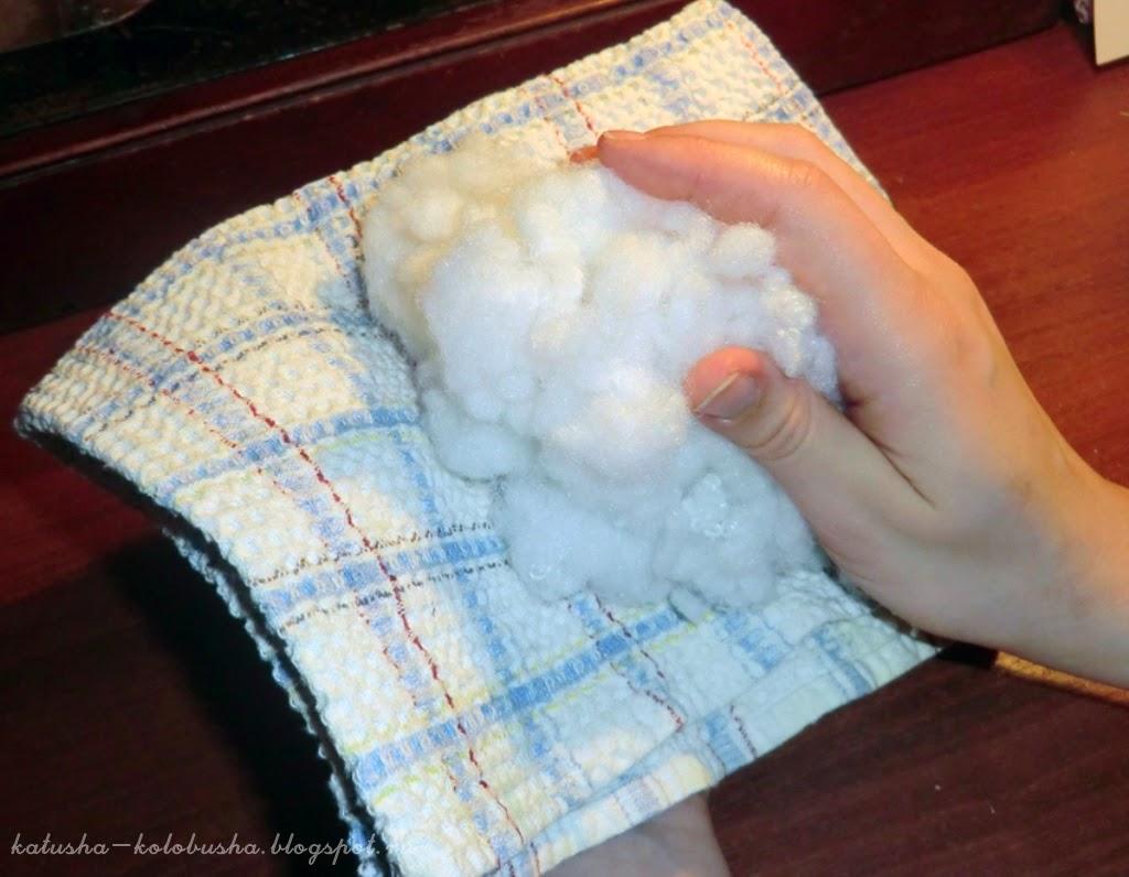Как сшить снежки своими руками 85
