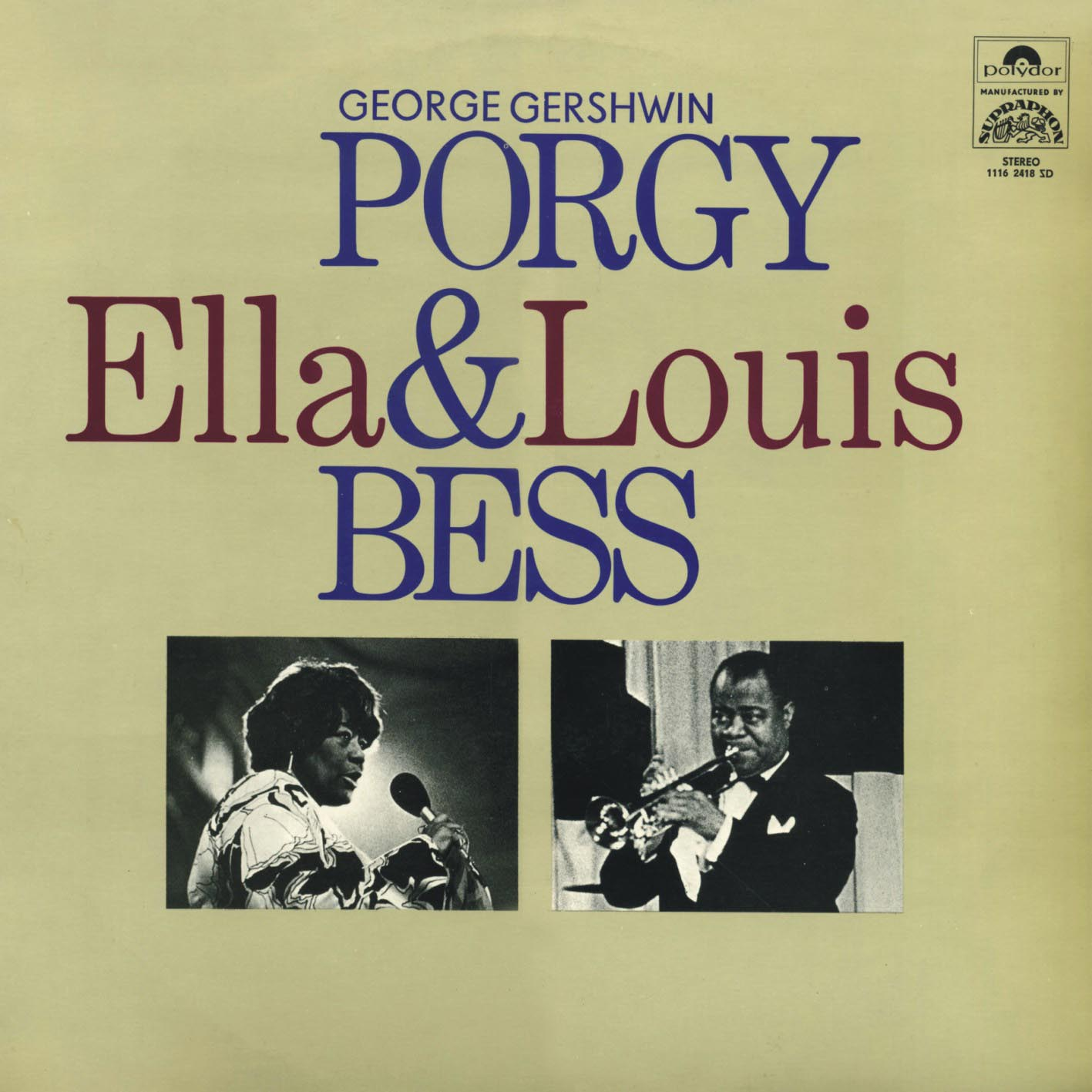 Vinylforever Ella Fitzgerald Amp Louis Armstrong Porgy Amp Bess