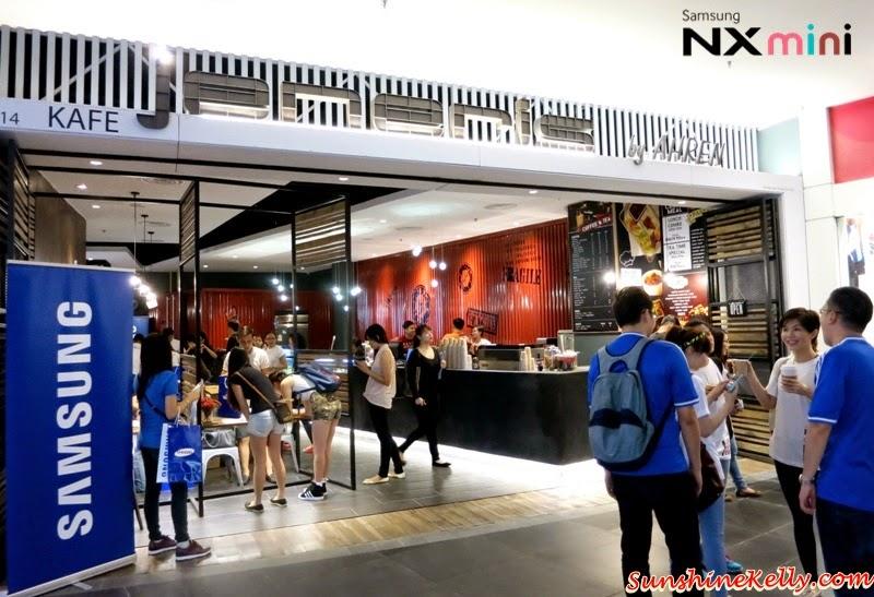 Samsung NX Mini Smart Camera, Photo Marathon Challenge, Jeneris Cafe, Nu Sentral, KL Sentral, samsung camera
