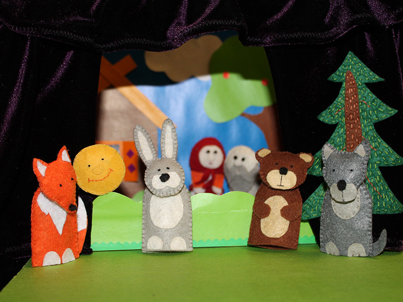 Кошкин дом кукольный театр своими руками 94