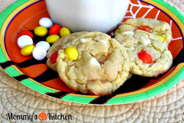 ... Family Friendly Recipes: White Chocolate Candy Corn Cake Mix Cookies