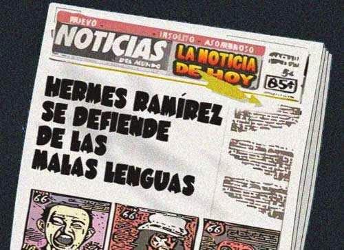 Front page cómic - Hermes Ramírez