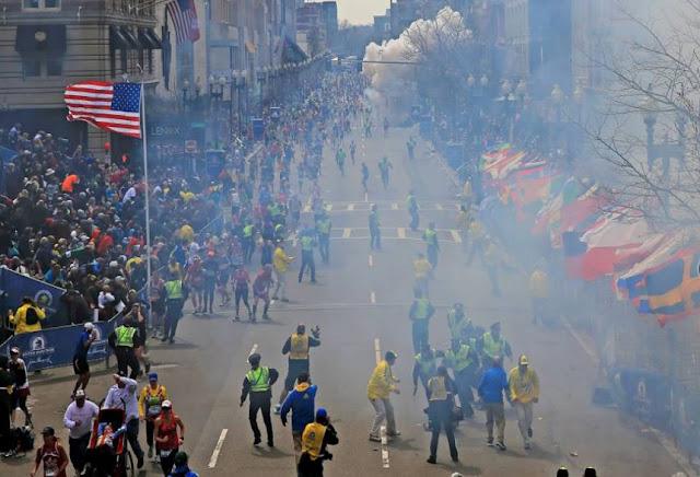 Pelari Indonesia Selamat dari Ledakan di Marathon Boston