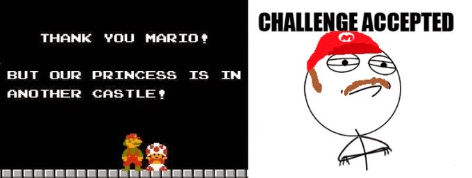 Challenge Accepted Super Mario Bros