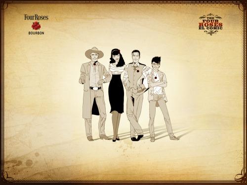 Four Roses - El cómic