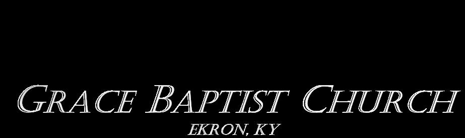Grace Baptist Church, Ekron, KY