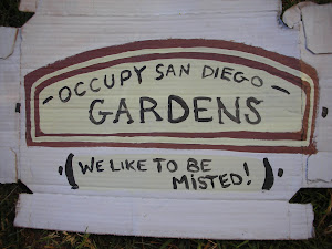 Original OSD Garden Sign