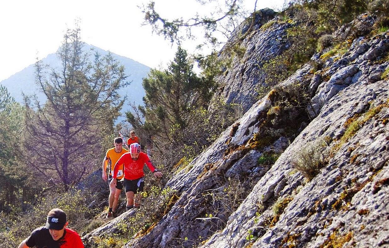 Arganza Trail. Trail Running