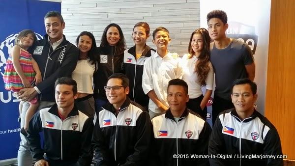 Team Pangilinan and Pinoy Athletes for USANA