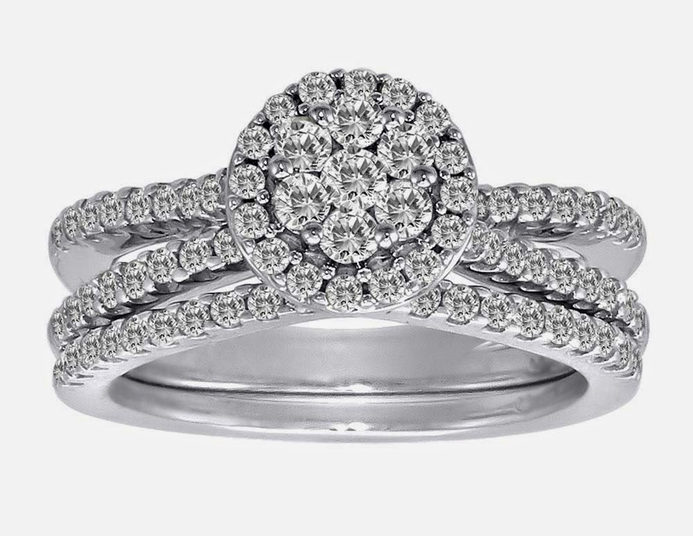 Bridal Set Engagement and Wedding Ring Sets UK Luxury Diamond pictures hd