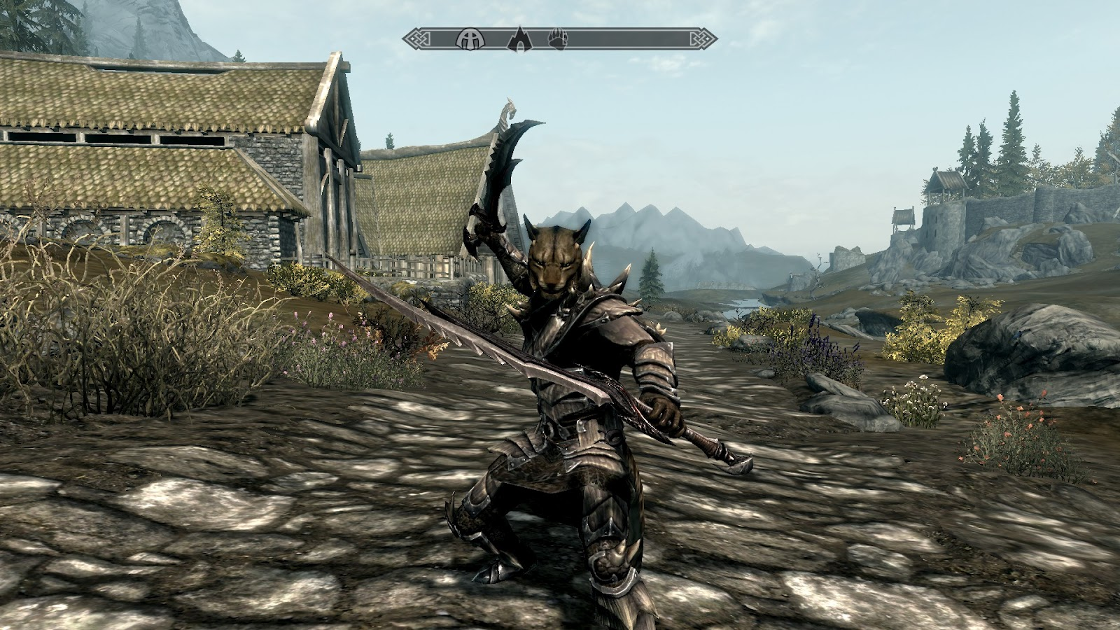 Argonian In Dragon Scale Armor With m  dragon scale armorDragonscale Armor Skyrim Argonian