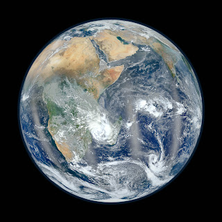Blue marble high resolution image