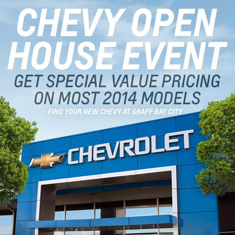 Chevy Open House Event at Graff Bay City