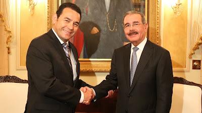 VIDEO: Presidente electo de Guatemala visita a Danilo Medina;  dice emulará ejemplos