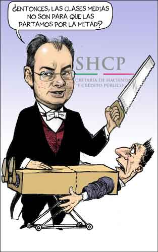 Caricaturas Politicas: La magia de Luis Videgaray
