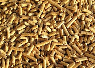 sawdust as a alternative energy fuel burned
