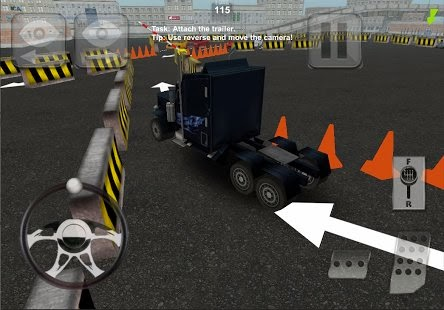 Truck Parking Madness 3D
