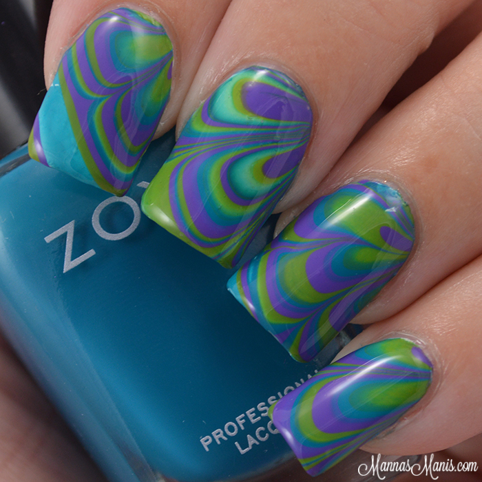 Zoya Watermarble Nail Art - Manna's Manis on ns design, blue sky design, dy design, berserk design, er design, dj design, color design, setzer design, l.a. design, pi design,