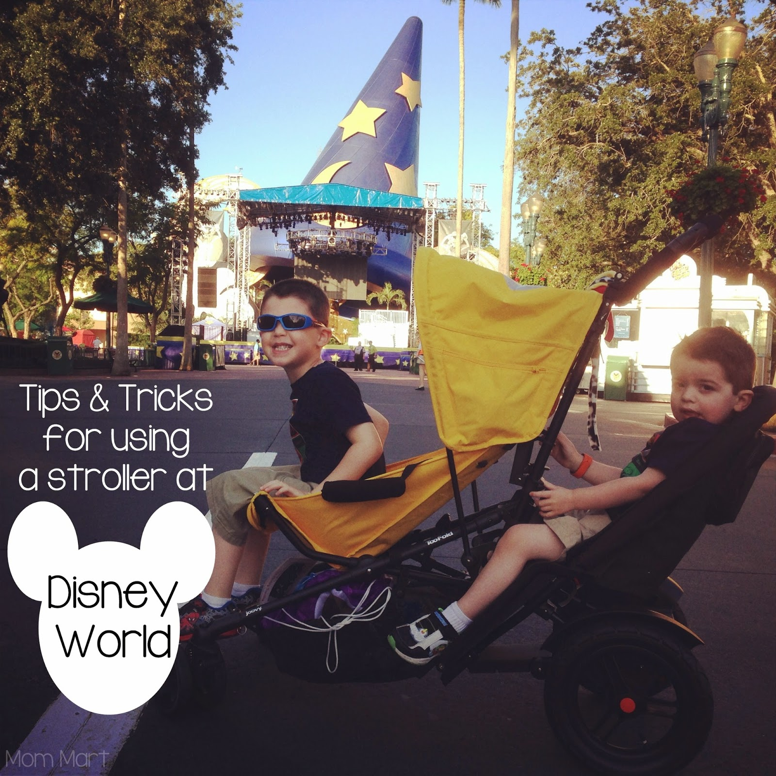 Strollers at Disney World #Disney #Strollers #TipsAndTricks