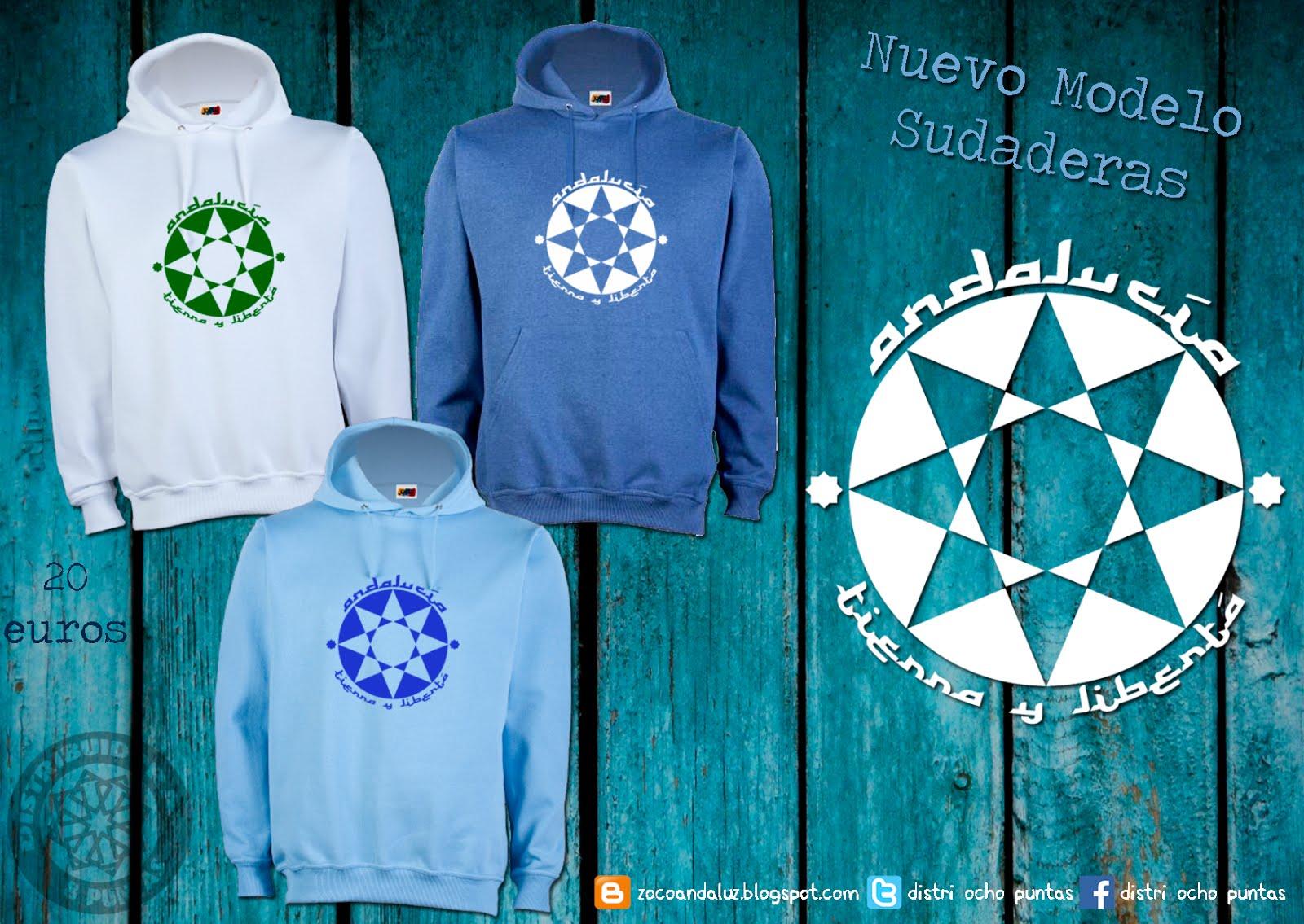 """Sudadera o camiseta """"Andalucía, Tierra y Libertá"""""""