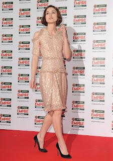 Keira Knightley at the Empire Film Awards