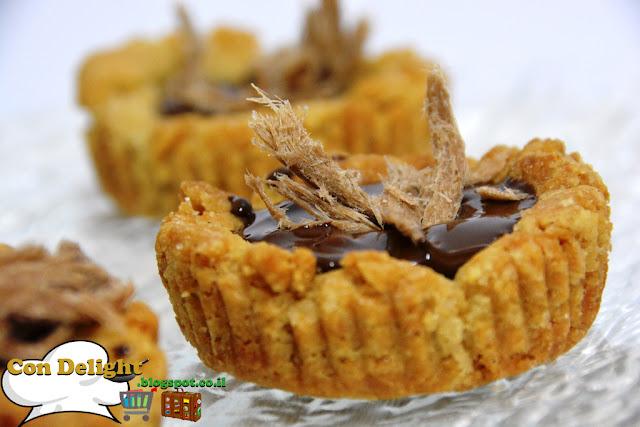 עוגיות טחינה במילוי שוקולד Tahini cookies filled with chocolate
