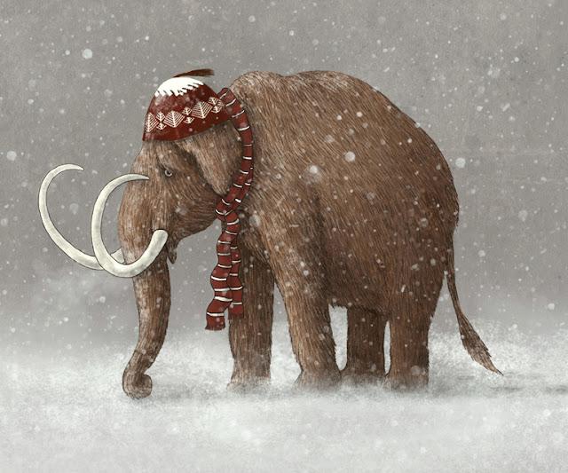 Mammut med 'elefant-hue'