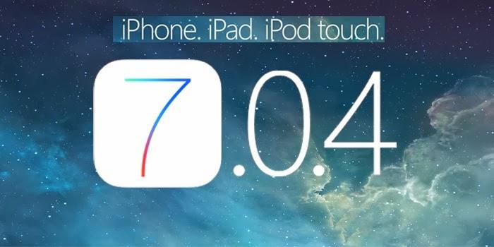 Download iOS 7.0.4 IPSW Firmwares