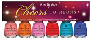 China Glaze Cheers! to Neons