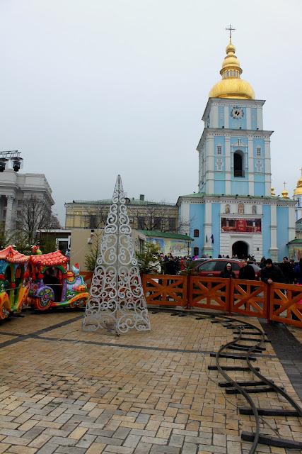 Детская железная дорога на Михайловской площади