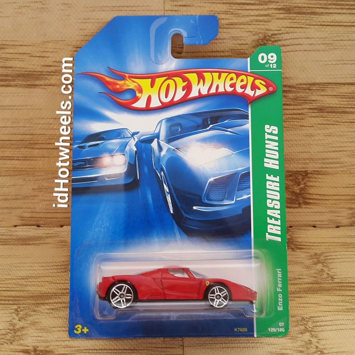 Hot Wheels Ferrari Skala 164 Paket 7 Pcs Dijual Indohotwheels Hotwheels Volkswagen Baja Bug White Tropicool Series 2007 Enzo Red Treasure Hunts 09 Of 12 Long Card