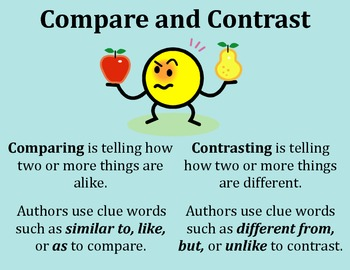 interesting compare and contrast essay topics