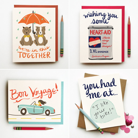 Illustrations and paper goods by Caitlin MacCain of Little Low Studio on Etsy.
