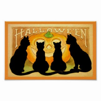 Halloween Black Cats, part 4