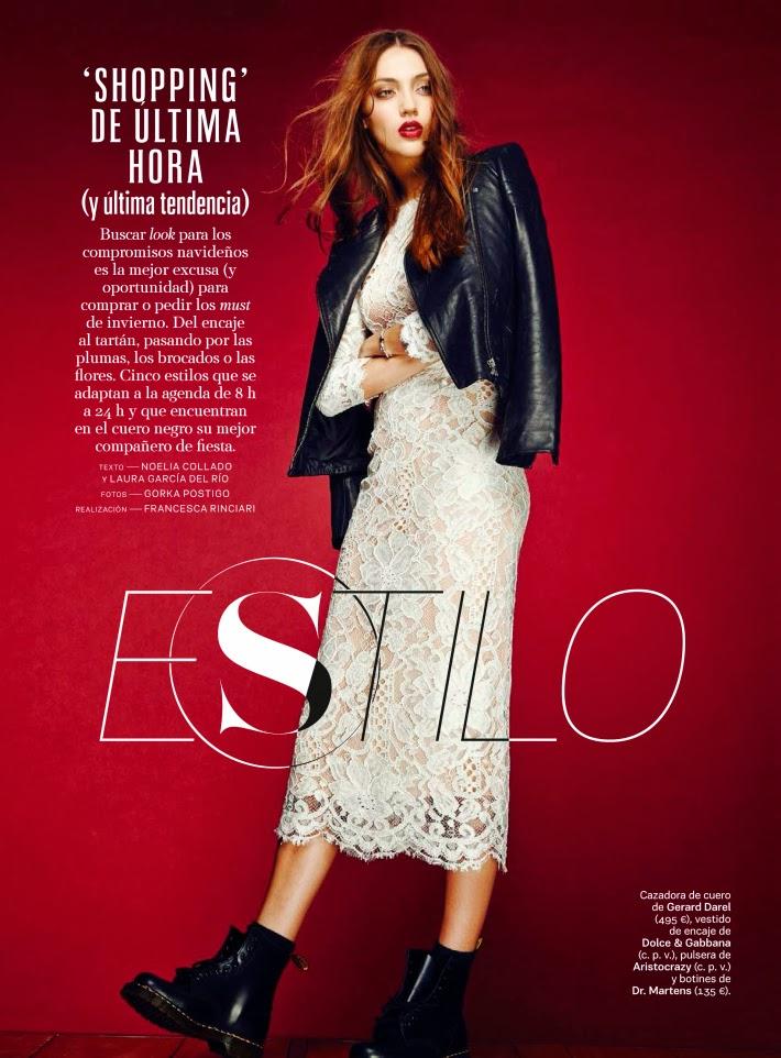 Neus Bermejo Magazine Photoshoot by Gorka Postigo for S Moda Magazine